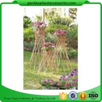 Outdoor Bamboo Garden Willow Garden Trellis Manufactures