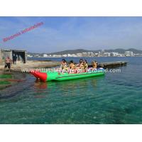 Outdoor Adventure Sports Inflatable Towable Boat Tubes For Sea / Lake Manufactures
