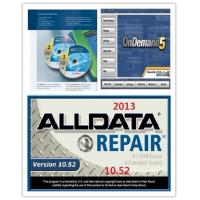 Automotive Diagnostic Software ALLdata10.52+OnDemand5.8 + BOSCH ESI 2012 Manufactures