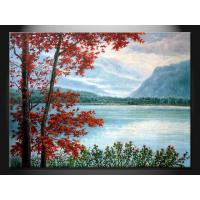 Custom 100% Hand Made Cheap Classical Landscape Paint  Oil Painting GDFT188 Manufactures
