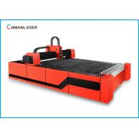 China 1500w Red  Digital Small Cnc Fiber Laser Cutting Machine For Steel Metal on sale