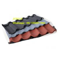 China Corrugated Metal Roofing Sheets Fashionable Coffee Brown Bond / Classic on sale
