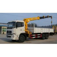 China Dongfeng 6x4 10 wheels LHD, RHD Truck Mounted Crane with Capacity 10ton for Sale on sale