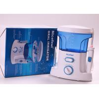 Ultrasonic Water Jet Dental Flosser , Water Jet Teeth And Gum Cleanser Manufactures