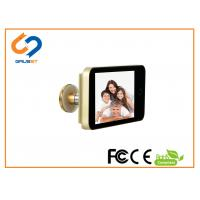China Smart LCD Electronic Door Eye Viewer 4.0 Incht Touch Screen Controlled on sale