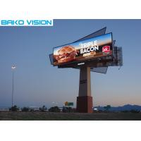 Lightweight Full Color Outdoor Advertising Led Display Billboard P6.4-12.8mm Manufactures