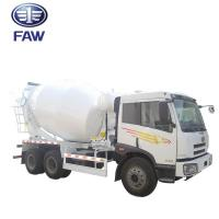 Small Self - Loading Concrete Mixer Truck JIEFANG FAW J5M 4*2 6*4 Manufactures