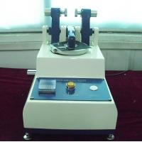 China Rotary Taber Abrasion Tester Rubber Testing Equipment wear resistance of skin for sale