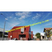 China Modular Design Pre-Fabricated  Structural Steel Fabrication Quickly Assembled Construction on sale
