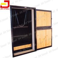 Low Price High Quality Oil Carbonized Bamboo Horse Stables Stall Manufactures