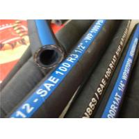China Fiber braided hydraulic hose  SAE 100 R3 on sale