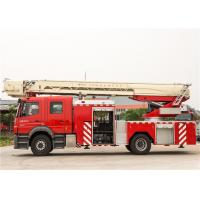 Ultrasonic Sensor Remote Control Ladder Fire Truck Running Speed 90KM/H Manufactures