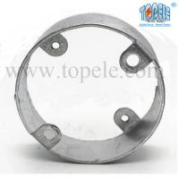 Electric Stainless Steel Conduit Fittings BS4568 Conduit Box Extension Rings Manufactures