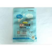 Buy cheap Printing Aluminium Foil Bag , Bathing Gloves Transparent Packaging Bag from wholesalers