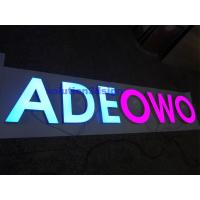 Resin Alphabet Letters for Outdoor LED Illuminated Signs Manufactures