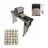 Poultry Husbandry Egg Inkjet Marking Machine With 1mm - 9mm Printing Word Height Manufactures