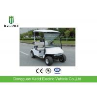 Mini Electric Golf Carts With 48V Battery Curtis 2 Seaters White Color Cheap Prices Golf Car Manufactures