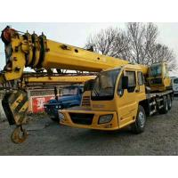 230hp XCMG Used Crane Truck 16t Lifting Capacity With Excellent Lifting Performance Manufactures