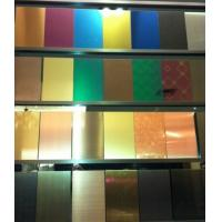 SUS316L 8K Mirror Polish Finish Stainless Steel Sheet 4x8  4x10  6000MM/ SS 304 Sheet 0.3MM - 3 MM Plates Manufactures