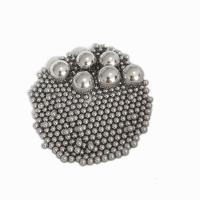 3.969MM Round Steel Balls , Solid Metal Ball G10-G100 Aisi52100 100cr6 Recirculating Manufactures