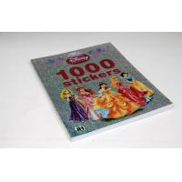 Color Photo Book Printing Services , Disney Children Stickers Book Print Manufactures