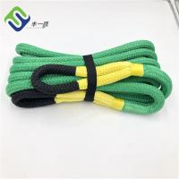 Green Color Nylon Recovery Towing Strap Rope 1x30ft Hot Sale Manufactures