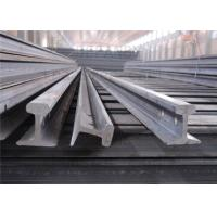 Material 55Q / Q235B Light Steel Rail Strong Hardness For Railway Rail Manufactures