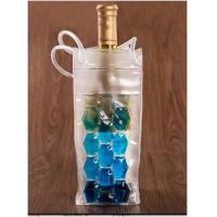 Promo Vinyl Pvc Wine Cooler Bag Custom Handle With Logo Printed Manufactures