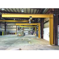 Customized 360 Degree 5 Ton Warehouse Jib Crane With Hoist Lift SGS Certification Manufactures