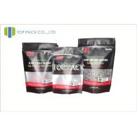 Mini Window Foil Stand Up Pouches For Snack , Foil Bags For Food Manufactures