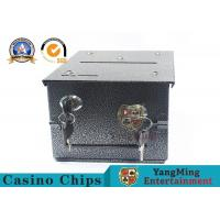 Homestyle Drop Box w/2 Locks & Locking Plate Of Gambling Poker Table To Install Manufactures