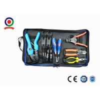 Portable High Precision MC4 Tool Kit , Interchangeable MC4 Connector Crimping Tool Manufactures