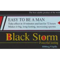 China Black Storm 8000mg Sex Enhancement Pills With 3 Years Shelf Time on sale