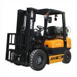 Optional Color Gasoline LPG Forklift 2.5 Ton Automatic Transmission Manufactures