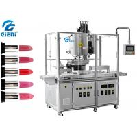 10 Nozzles Automatic Silicone Mold Lipstick Making Machine With Heating Tanks Manufactures