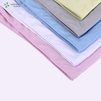 Anti Static esd lint free thick microfiber cleaning cloth Manufactures