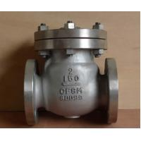 China 4 Holes X 4 Inch Swing Gate Check Valve , Oil Swing Type Check Valve on sale
