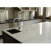 Luxury Kitchen Island Nano Glass Countertop 45 Degree Cutting Manufactures