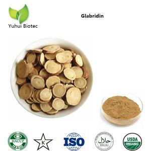 China licorice extract glabridin,glabridin powder,glabridin extraction,59870-68-7 on sale