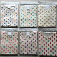 Boy / Girl T - Shirt Pure Cotton Baby Clothes Interlock Fabric For 0 - 9M Age Manufactures