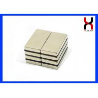 Sintered Neodymium Block Magnet , Strong Alternator Permanent NdFeB Magnet Manufactures