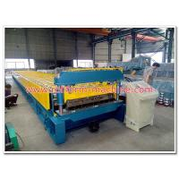 Buy cheap Galvanized Steel Floor Deck Cold Roll Forming Production Line for Steel Structure Application from wholesalers