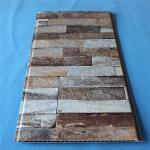 Home Building Plastic Composite Siding Panel Faux Marble Design Eco Friendly Manufactures