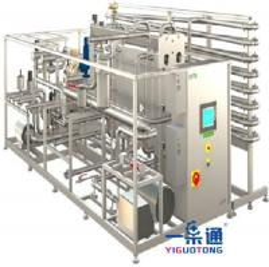 China Tea Drinks Pasteurizer Machine , UHT Tubular Milk Pasteurization Equipment on sale