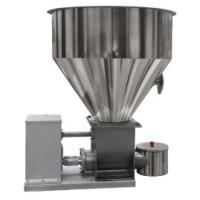 PLC Control Powder Feeder Machine Adjuatable Height Variable Control Functions Manufactures