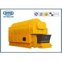 Automatic Industrial Steam Hot Water Boiler Coal Fired Horizontal Single Drum Manufactures