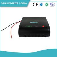 China Home Solar Panel Dc To Ac Inverter Sine Wave , 0.5 - 2KW Solar System Inverter  High Frequency on sale