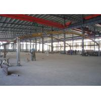 Hydraulic Cylinder Steel Framed Car Parks , ASTM A123 Metal Covered Parking Structures Manufactures