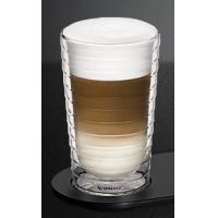 NESPRESSO CitiZ Barista coffee Cups,Set of 2,hand-blown Recipe glasses (350 ml),Double Wall Glass Coffee glass Manufactures