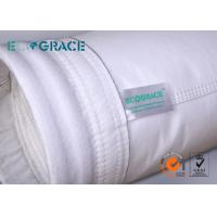 Food Grade Polyester Needle Felt Filter Bags In Steel / Chemical Industrial Manufactures